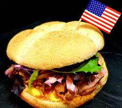 Burger pulled pork La Caz'amis