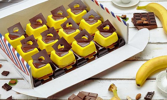 Шоколад-Банан десерт 100гр