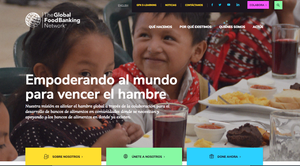 The Global FoodBanking Network ahora tiene página web en español