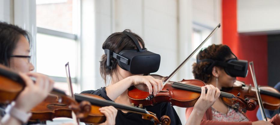 Messing around with Virtual Reality