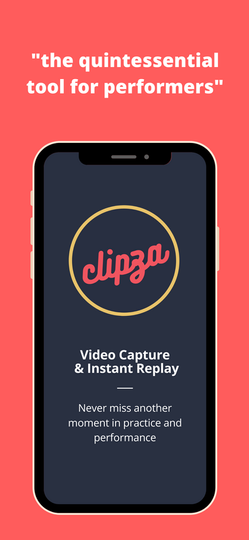Clipza app for performers