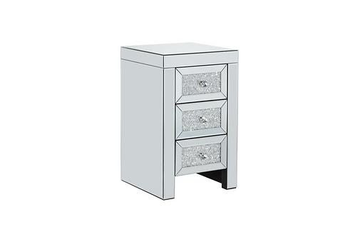 Vienna Bedside 3 Drawer Cabinet