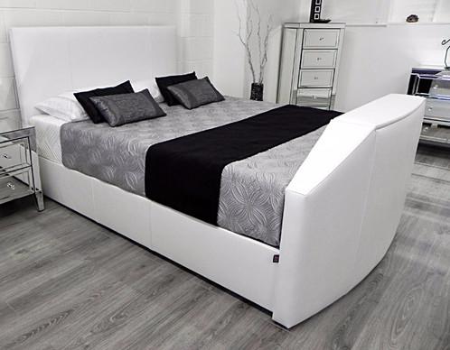 Tv In Bed : End of bed tv hidden tv at the foot of the bed nexus