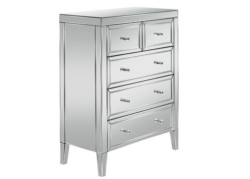 Valencia 3 + 2 Drawer Chest