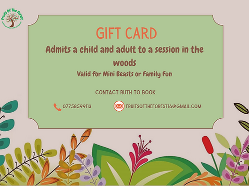 Gift Voucher for Child and Adult