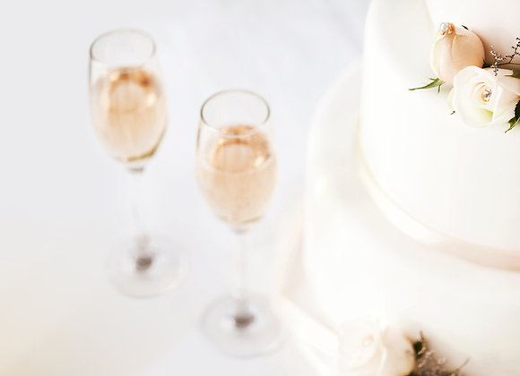 Sparking Cider Toast Package For 10 Guests