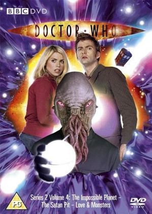 Doctor Who DVD Cover
