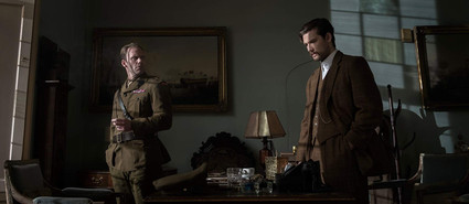 Will Thorp and Alex Pettyfer in The Last Witness