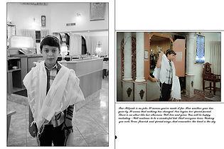 עיצוב אלבום תמונות לבר מצווה