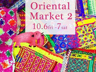 10月6日(fri),7日(sat)Oriental Market/茅ヶ崎周辺案内!