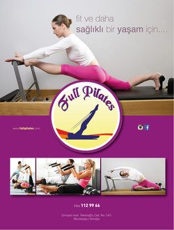 full pilates female dergisi