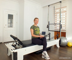 full pilates samime hoca ve reformer