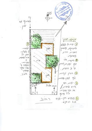 אדריכלית אלונה נבו סידי תוכנית עם חצרות כיווני אויר ואור טבעי