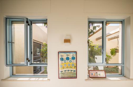 אדריכלית אלונה נבו סידי אור טבעי חלונות יפים