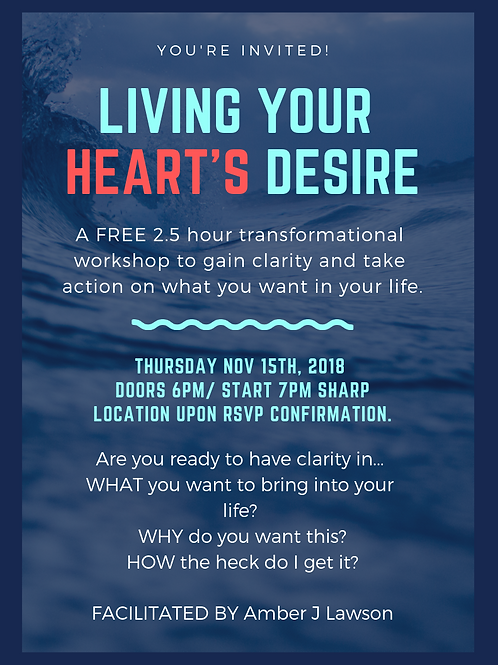 Living Your Heart's Desire