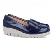 Zapato piel geometrías