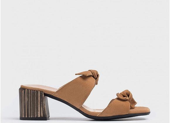 Sandalia tacón lazos Sand
