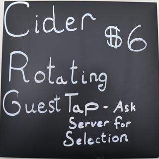 Cider Guest Tap