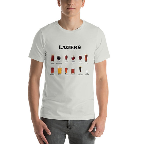 Lagers Short-Sleeve Unisex T-Shirt
