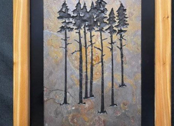 Nice group of Mountain Trees