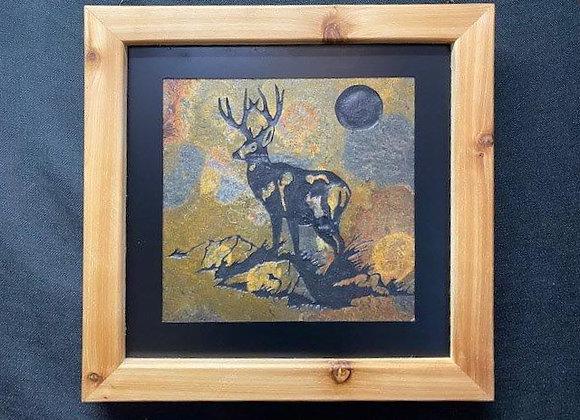 Deer on a Hill