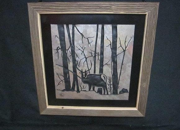Elk in Trees