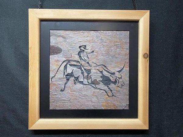 Bull Rider in Rodeo