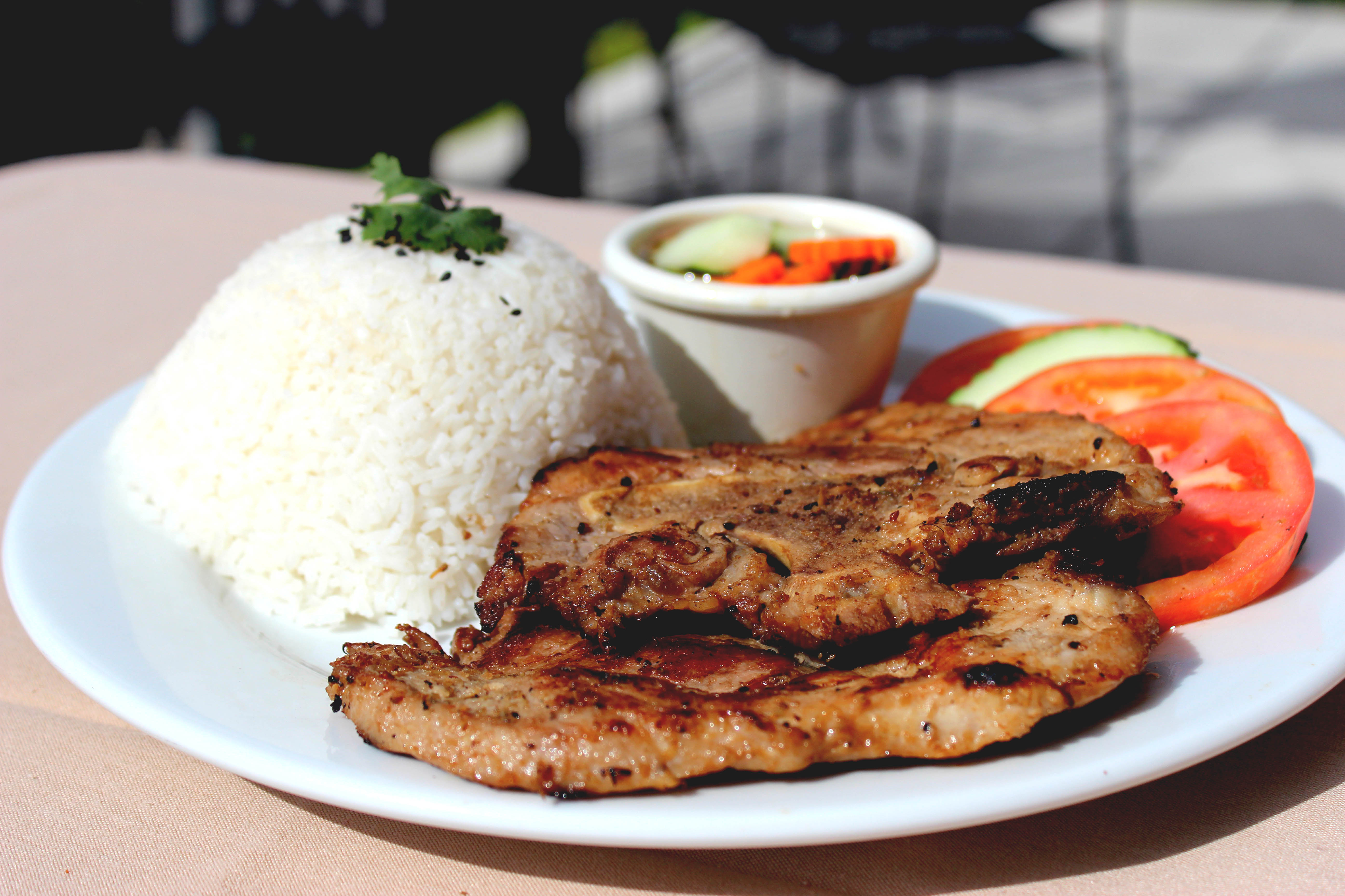 Lemon Grass Pork Chops