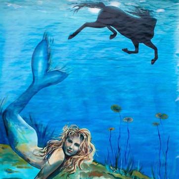 Mermaid and stallion