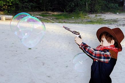 игра с водным пистолетом