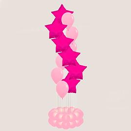композиция из шаров спираль