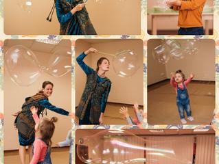 Пузыри встречают детей на 1 сентября