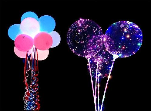 Световые шары. Шары с диодами. Светящиеся шары.