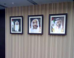 UAE shaikh official photos