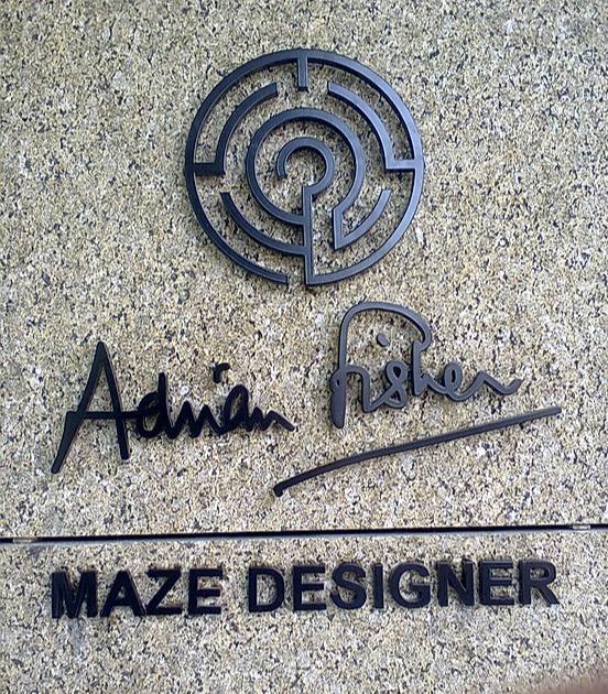 Adrian Fisher maze designer