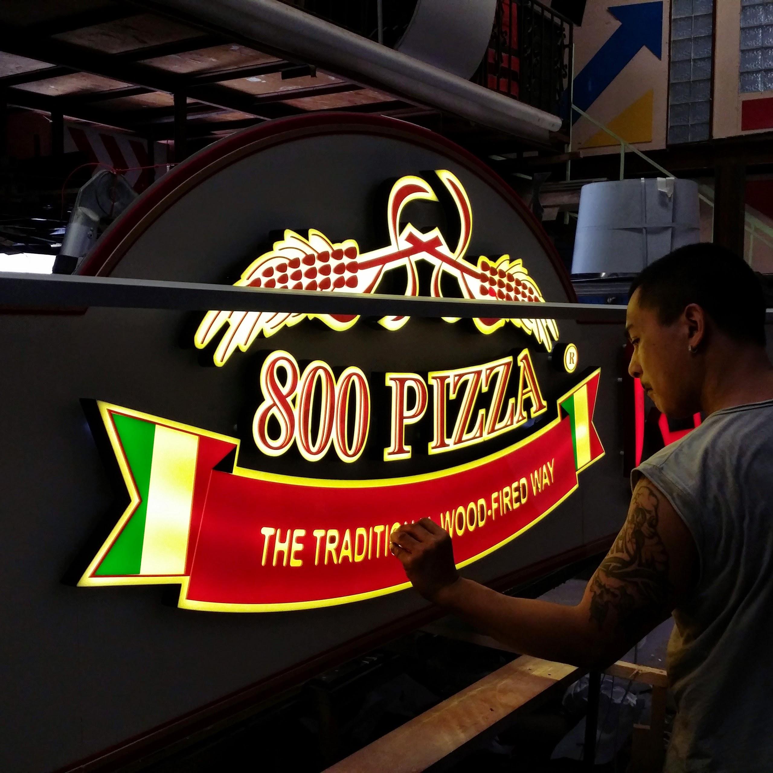 Pizza signage