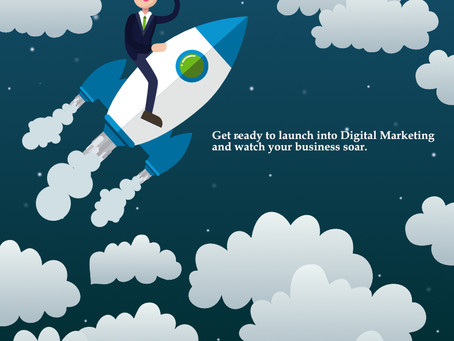 Get ready to launch into Digital Marketing and watch your business soar.