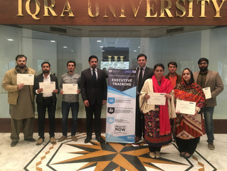 Executive Training Program completion