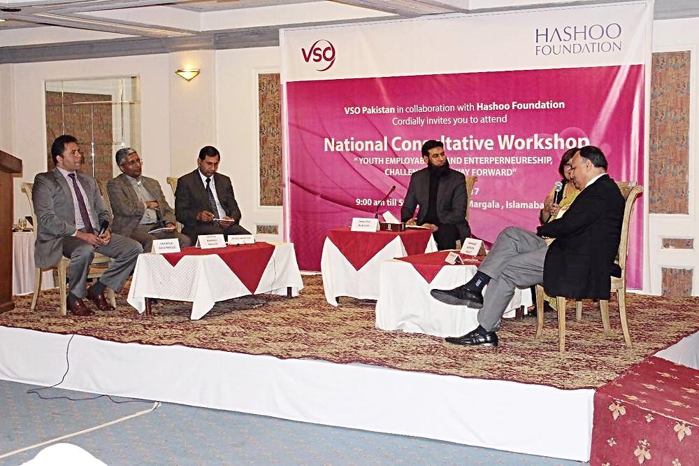 Saud Masud _Youth Entrepreneurship & Employment Event 1