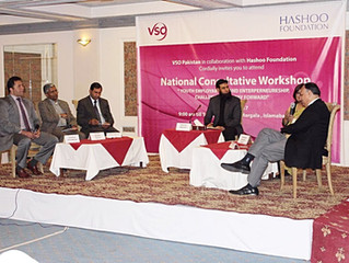 Youth Entrepreneurship & Employment Consultative Workshop by VSO & Hashoo Foundation