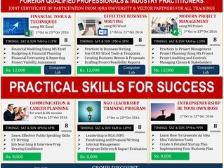 Acquire Practical Skills for Success - Executive Training (ET) Program