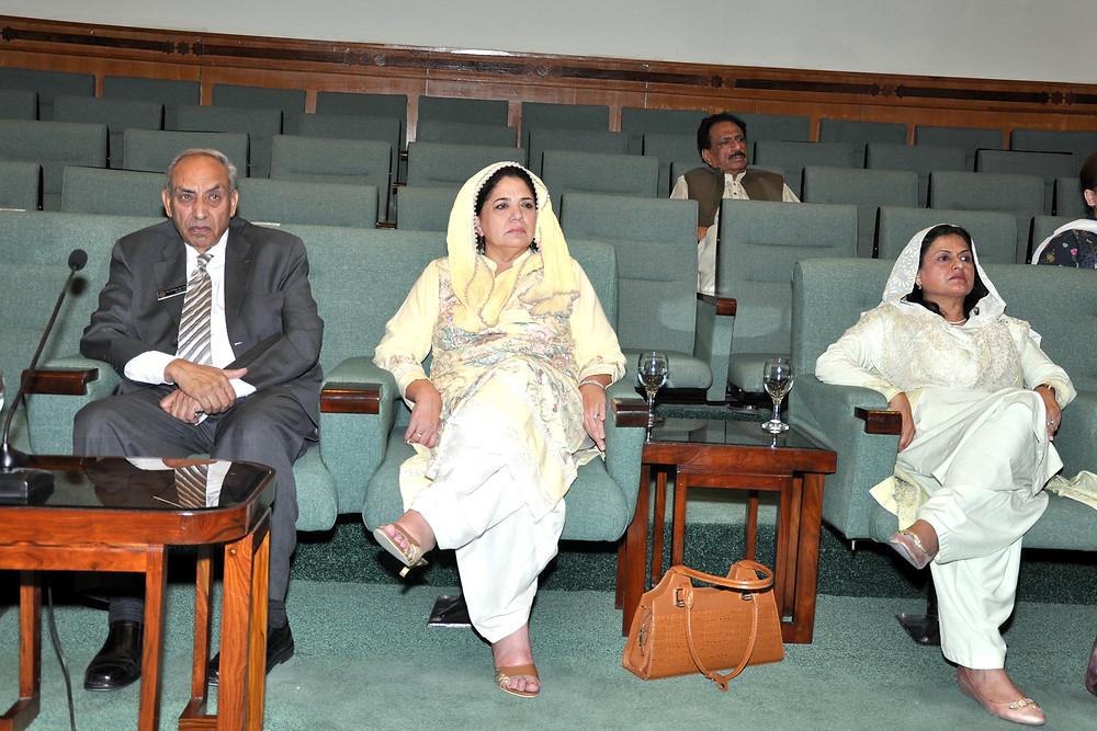 Dean, NDU & Dr. Rubina Daud, Director Vector Partners _ Saud Masud