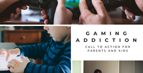 Gaming addiction: call to action for parents and kids
