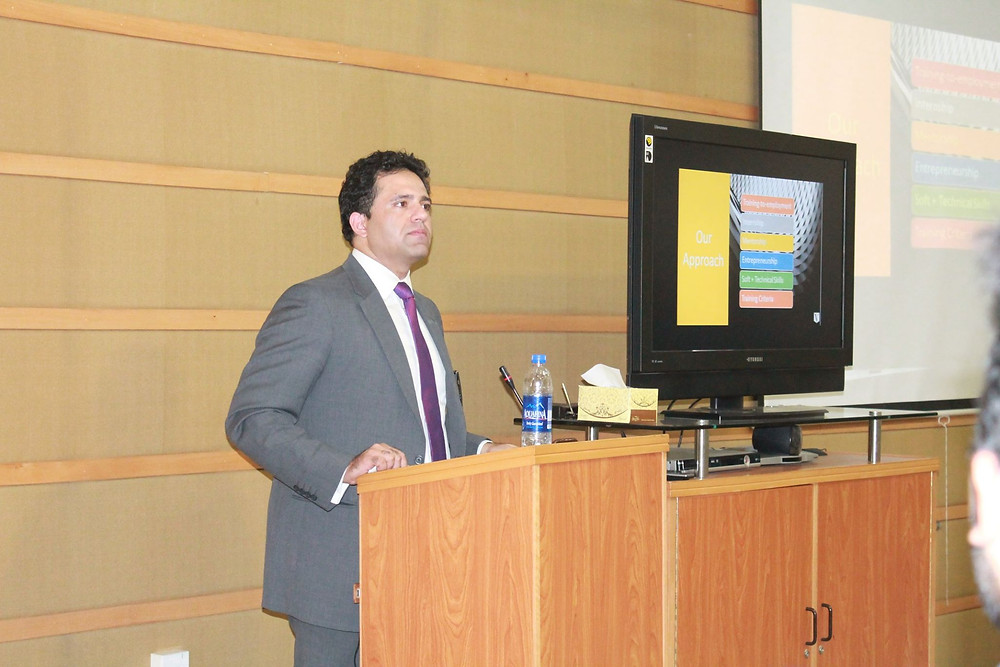 Mr. Saud Masud at IMS seminar _ consulting & capacity building