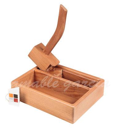 Escachanoces madeira de sapelli
