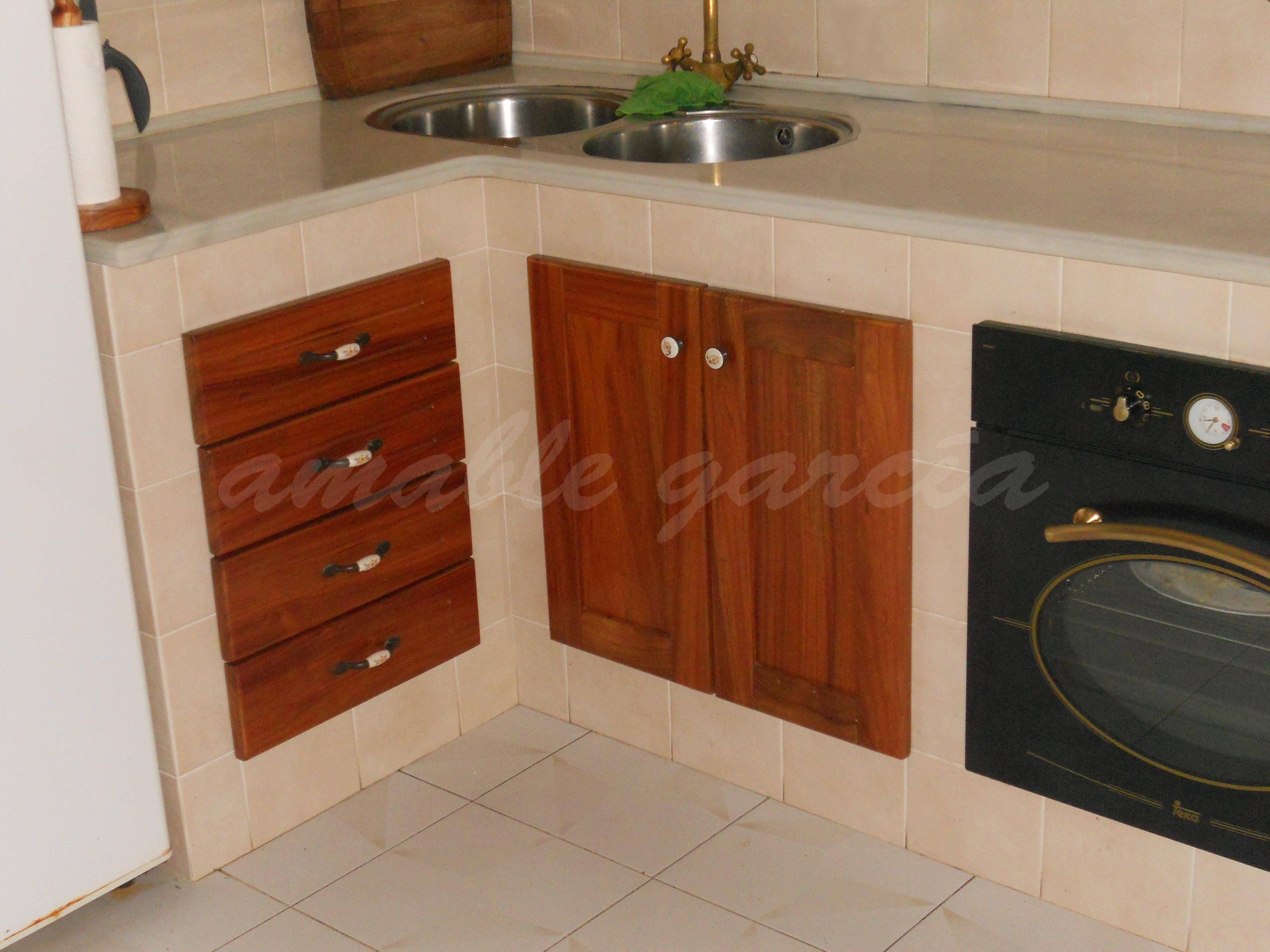 Cociña de obra rústica_2