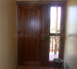 Porta exterior madeira natural_1