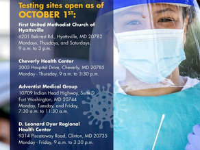 HOW AND WHERE TO GET COVID-19 TESTING IN THE COUNTY