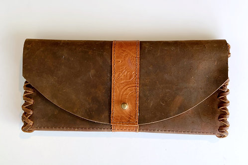 JACKSON WALLET -TOOLED