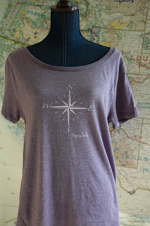 COMPASS RELAXED FIT TEE